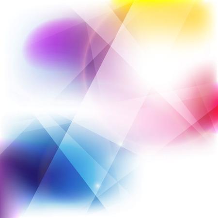 Belle vecteur abstrait art coloré fond Banque d'images - 57625186