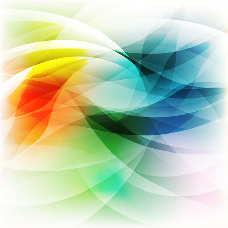 Beautiful vector abstract colorful art background Illustration