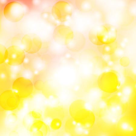 abstracte achtergrond met oranje zonnestralen Stock Illustratie