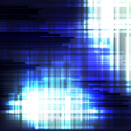 Blauwe lijn abstracte achtergronden ontwerp Stock Illustratie