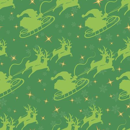 Christmas seamless pattern. Stock Illustratie