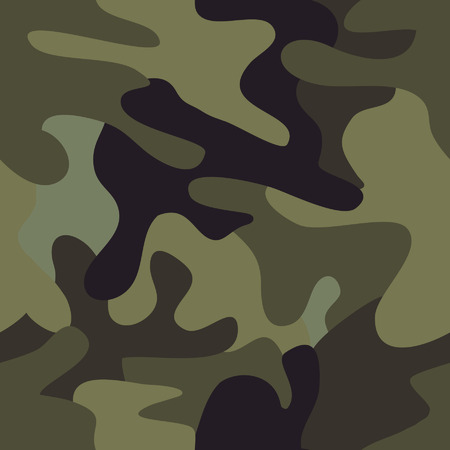 Camouflage seamless pattern. Stock Vector - 4575799