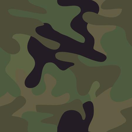 Camouflage seamless pattern. Illusztráció