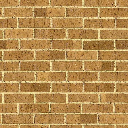 Brick seamless pattern. Stock Photo