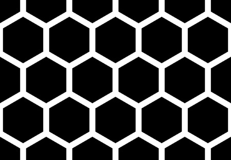 Hexagonal seamless pattern.