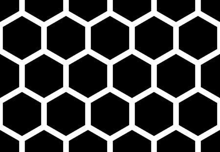 wall cell: Hexagonal seamless pattern.