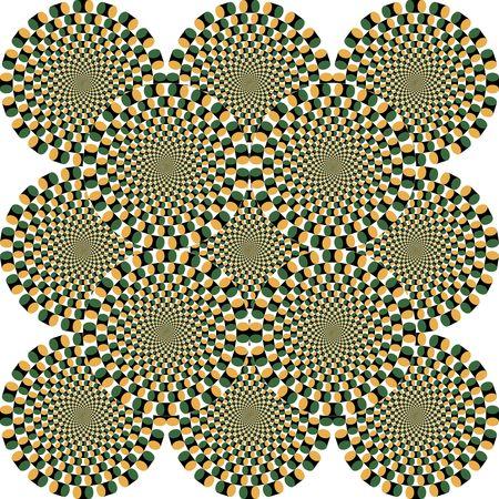 Opticall illusion.