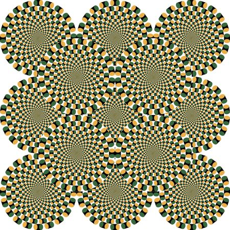 illusions: Opticall illusion.