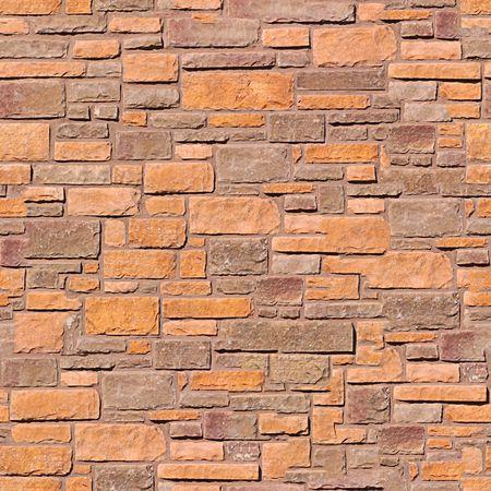 stone wall: Brick wall seamless pattern. Stock Photo