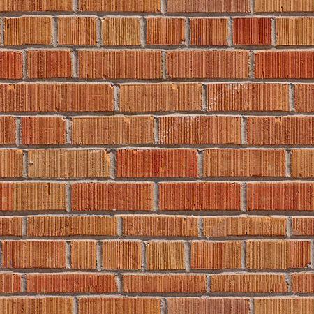 Brick wall seamless pattern. photo