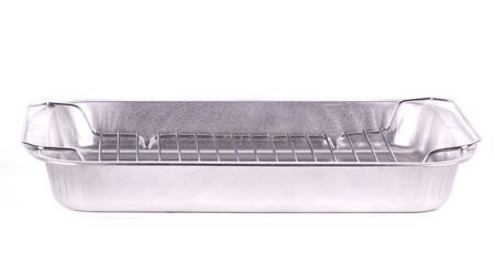 foil: Aluminum cooking tray.