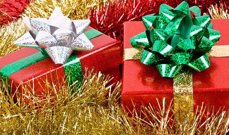 Christmas presents. photo