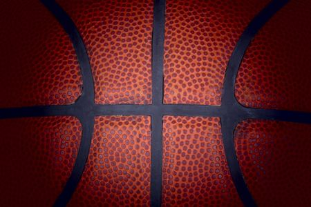 Basketball detail. Stock Photo - 6845570