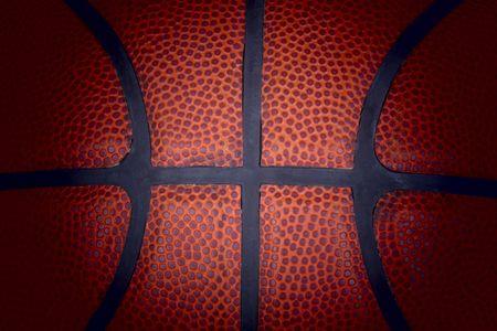 Basketball detail. Stock Photo
