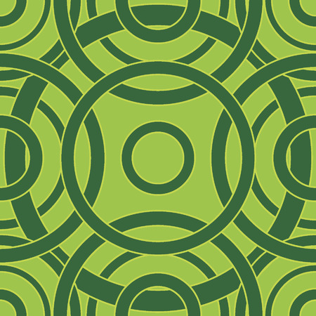Abstract circles seamless pattern.