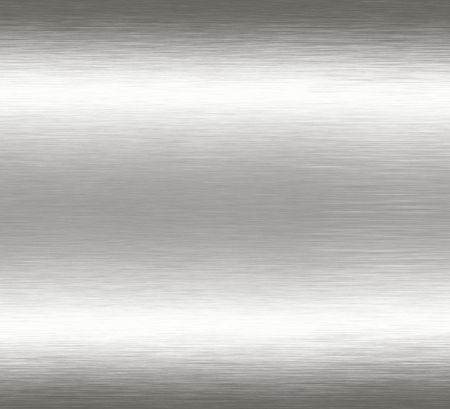 zilver: Abstract brushed metal achtergrond.