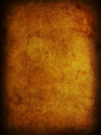 burnt: Stained ancient paper.