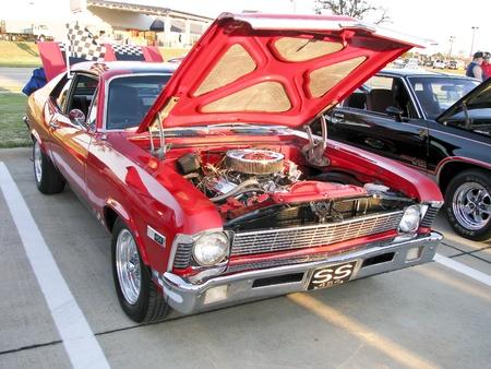ノース リッチランド ヒルズ、テキサス州 - 8 月 30 日: 詳細所長車ショーの - 2008 年 8 月 30 日 Birdville ISD ノース リッチランド ヒルズ、テキサス州で 報道画像