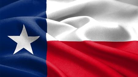 Texas flag. photo