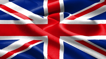 British flag. photo