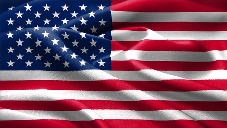 flag: American flag