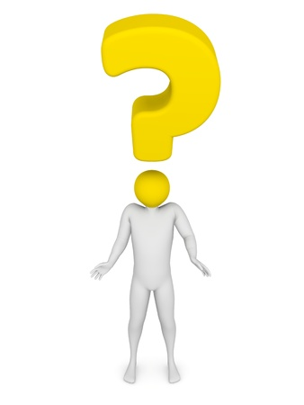 Question mark Stock Photo - 13851028