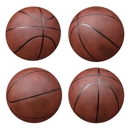 basketballs: Basketballs isloated on white