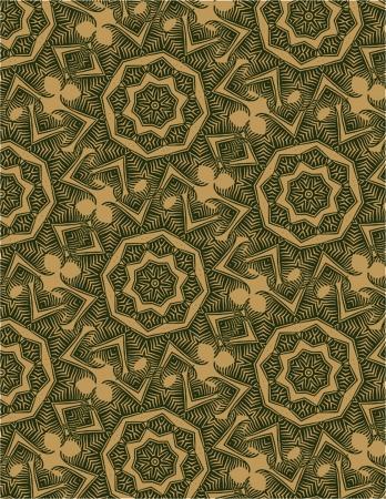 Seamless Floral Design  Vector