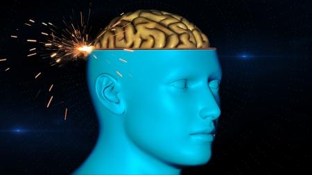 pituitary gland: Brain scan