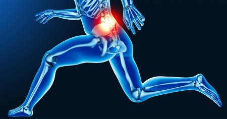 Leg joint pain photo