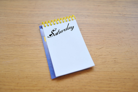 tasks: Saturday Notebook tasks