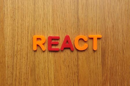 React word