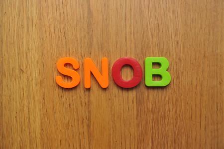 snob word