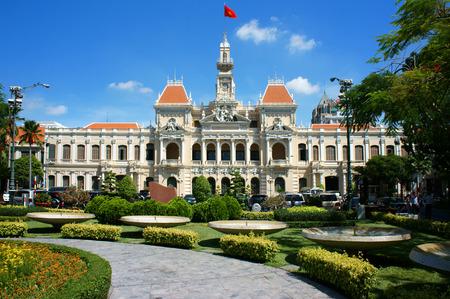 HO CHI MINH CITY, VIETNAM- MAY 13  Abstract panaroma of people Editoriali
