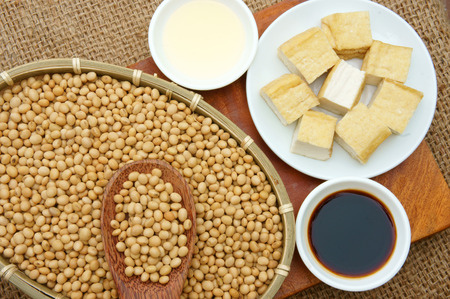 soymilk: Soybean name Glycine max, Fabaceae family, rich protein, acid amin, vitamin, an orgaric, cheap, nutrition product, to process soymilk, soy sauce, tofu, cooking oil, suitable for diet menu