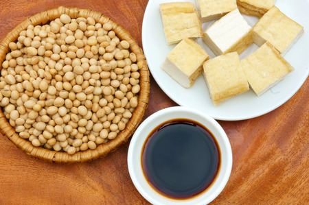 estrogen: Soybean name Glycine max, Fabaceae family, rich protein, acid amin, vitamin, an orgaric, cheap, nutrition product, to process soymilk, soy sauce, tofu, cooking oil, suitable for diet menu