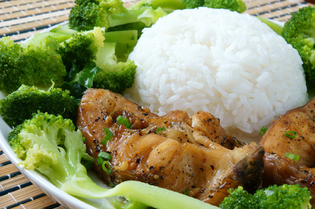 loc: Vietnamese food, ca kho to or fish cook with sauce, caramel fish, a Asian eating, raw material as fresh water fish, onion, garlic, pepper,  this meal vey nutrition, delicious
