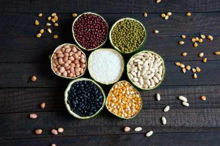 carbohydrates food: Group of cereals, healthy food, rich vitamin b, fibre, rich carbohydrates and protein, use grain everyday can help lose weight, reduce calories,  prevent cancer and antioxidant, this food very cheap