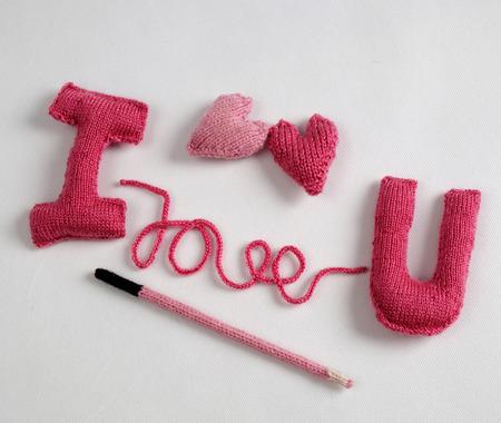 Erstaunlich Valentin Hintergrund in rosa Farbe, Symbol des Herzens, ich liebe dich Nachricht, Rose Blume, alle Geschenk handgemachte machen, stricken aus Garnen, Valentines Tag auf 14. Februar ist romantischen Tag für die Liebe