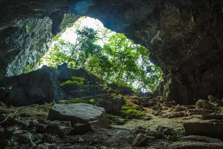 South China karst landform, natural cave