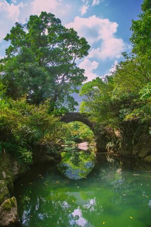 Guizhou Maolan National Nature Reserve, Yaosuo Ancient Bridge