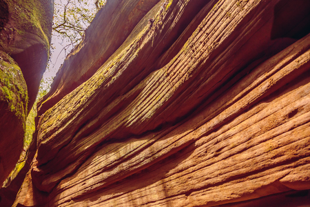 Ganquan Yucha Canyon in Shaanxi. Stock fotó