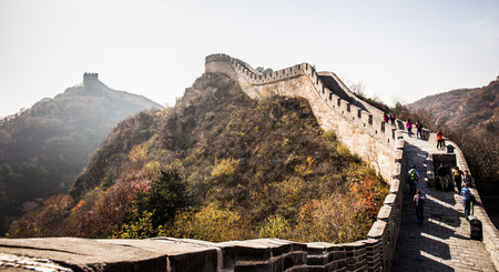miracle leaf: Great Wall of China Editorial