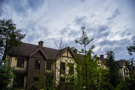 lodgings: Blue sky villas