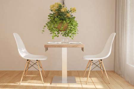 Modern interior design. 3D illustration Banque d'images - 150886236