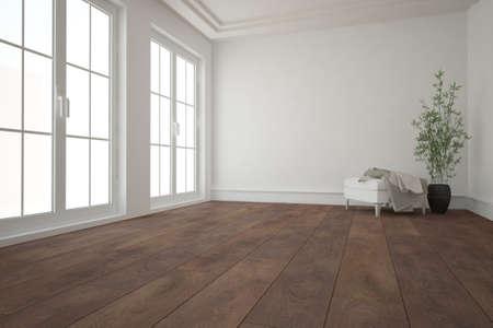 Modern interior design. 3D illustration Banque d'images - 150886241