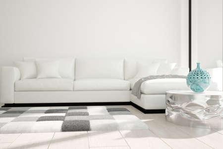Modern interior design. 3D illustration Banque d'images - 150886263