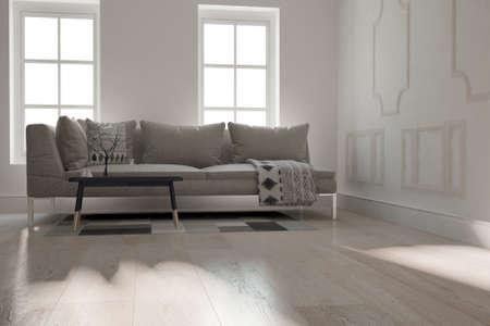 Modern interior design. 3D illustration Banque d'images - 150886267