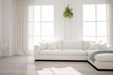 Modern interior design. 3D illustration Banque d'images - 150886276