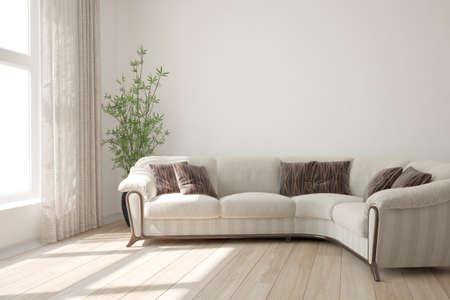 Modern interior design. 3D illustration Banque d'images - 150886369